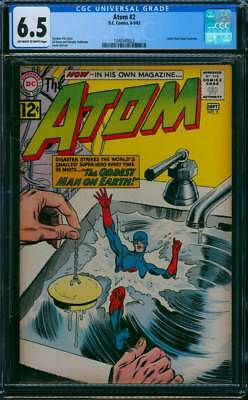 Atom # 2  The Oddest Man on Earth !  CGC 6.5 scarce book !