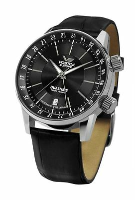 Vostok Europe GAZ14 Limousine Automatic Watch 5601059 - Leather Band - 43 mm