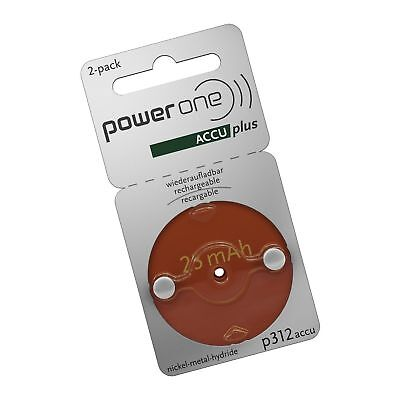 POWERONE ACCU plus Size 312 Rechargeable Hearing Aid ...