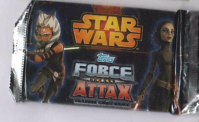 Topps Star Wars The Clone Wars Force Attax Trading Card Game