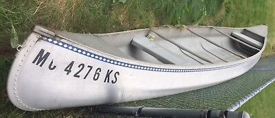 Michi-Craft T-17 Aluminum Canoe Used 17ft Great Condition Local Pick Up Only