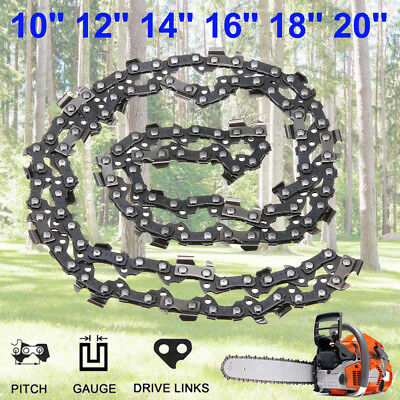 16 Types Chainsaw Chain Blade Replacement Saw Part 10'' 12'' 14'' 16'' 18'' 20''
