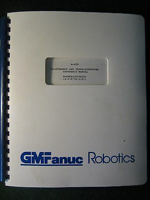 FANUC Robot M-400 Maintenance & Troubleshooting Manual M 400 GMFanuc Robotics