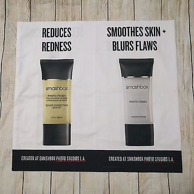 Smashbox Promotional Fabric Advertising Store Banner Wrap Primer Ulta