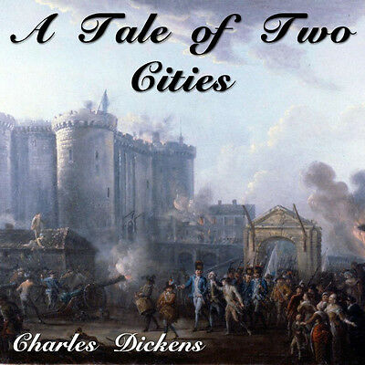 A Tale of Two Cities, Audiobook by Charles Dickens on 12 CD's