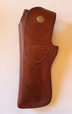 Bucheimer Pacemaker Brown Leather Gun Holster PM-44 Vintage
