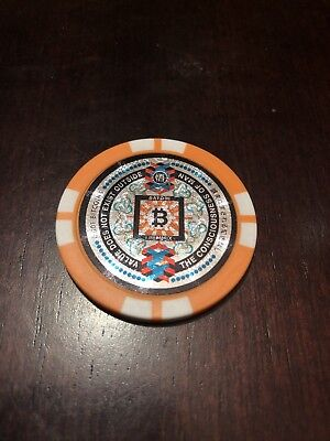 SATORI COIN Physical Bitcoin Wallet .001 BTC BTG Funded Not Litecoin USA Based