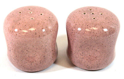 Set of Russel Wright by Steubenville American Modern Coral Salt & Pepper Shakers