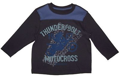 Graphic Tee Shirt infant Toddler Baby Boy Kids Children Long Sleeve Crew Neck