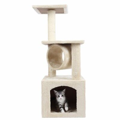 """36"""" Cat Tree Condo Furniture Scratching Post Kitten Pet Play W/Toy House CT1"""