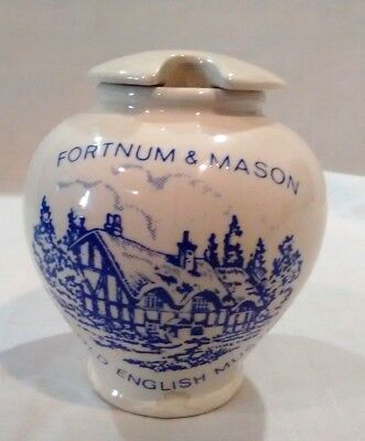 Fortnum & Mason Fine Old English Mustard Porcelain Jar by Crown Devon