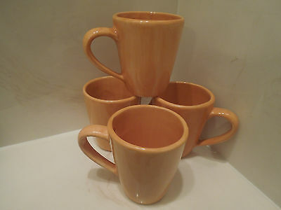 SET OF 4 Pottery Barn Made in Mexico MUGS
