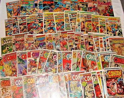 Huge LOT of  150 Silver Age & Bronze Age DC &  Marvel Comics See Description