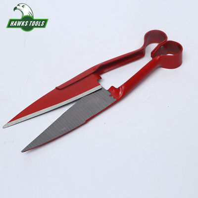 Red Wooden Handle Precision Cutter Trimming Shears Garden Grass Hedge Scissors