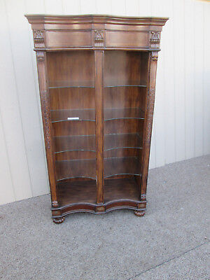 58405 Modern Open Bookcase Curio Cabinet with light