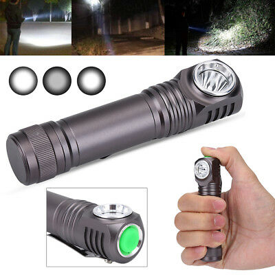 900LML/1200LM LED Rechargeable Flashlight Mini Torch Waterproof Bright Light CO