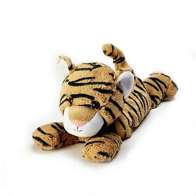 Warmies Tiger Cozy Plush Microwavable Heatable Animal Cuddly Soft Toy Bedtime