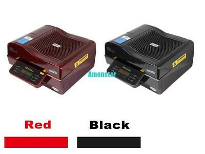3D SUBLIMATION Vacuum Oven Heat Press Transfer Phone Plate Mug 2800W Red/Black