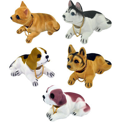 Car Styling Shaking Nodding Dog Bobblehead Dog Car Interior Ornament Decoration