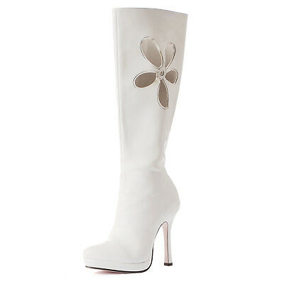 NEW Lovechild (White) Adult Boots, 6