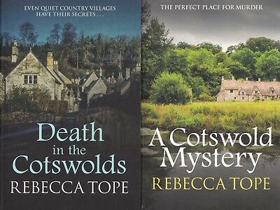Rebecca Tope Death In The Cotswolds, A Cotswold Mystery, 2 Book Set