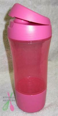 Tupperware 400m Quench Sports Drink Bottle- Pink -New