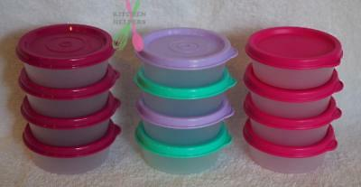 Tupperware Mini Snack Cup of 4- 70ml - New- Great for lunch boxes- choose color