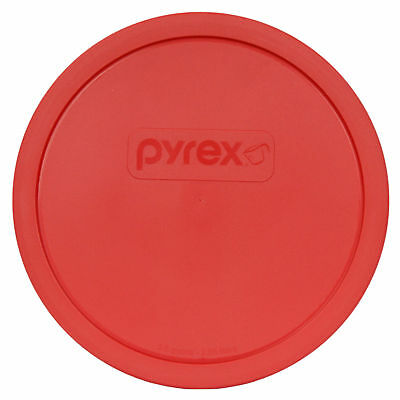Pyrex 325-PC Red Round Plastic Storage Lid Cover for 2.5 Qt Glass Mixing Bowl