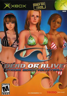 Dead or Alive: Xtreme Beach Volleyball - Original Xbox Game - Game Only