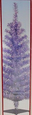 4ft Pre Lit Purple HOLIDAY CHRISTMAS TREE W/ Tree Stand
