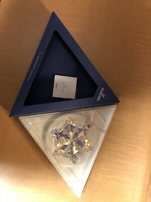 Swarovski 25th Anniversary Christmas Ornament 2016 X-Large