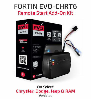 FORTIN Remote Start System For 2011-Up Chrysler/Dodge/Jeep/Ram | EVO-CHR.T6