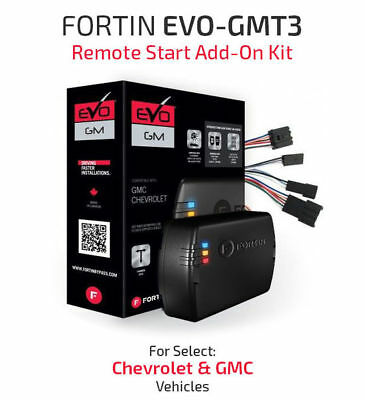 FORTIN Remote Start System For 2014-Up Chevy Silverado/GM Sierra | EVO-GMT3