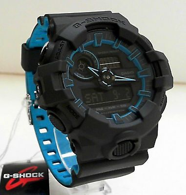 New Casio G-Shock Layered Neon Colors Ana Digi World Time Watch GA-700SE-1A2