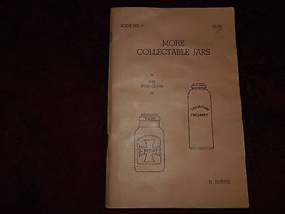 MORE COLLECTABLE JARS by R Burris   Book No. 3, 1968
