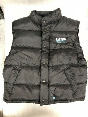 Blondie 'No Exit' Tour 1999 Black Down Vest Large