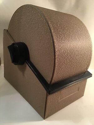 VINTAGE Bates Standard Rotary File Metal Rolodex with blank cards