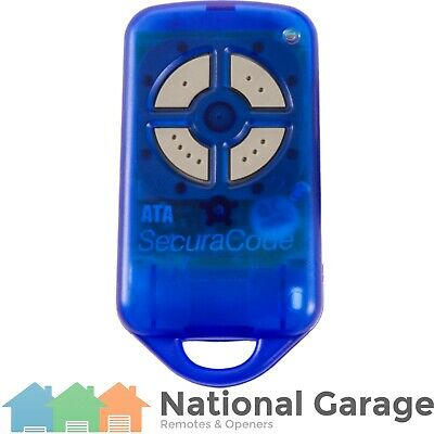 Garage Door Remote Control ATA PTX-4 PTX BLUE SECURACODE - Replacement Options!