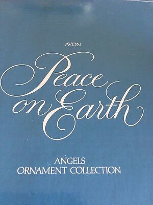 1983 Avon Angel Ornaments Peace on Earth - Angels of World Set of 5 Boxed Mint