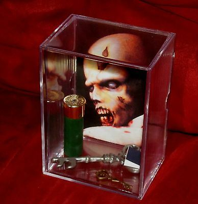 L@@K~Resident Evil (inspired By) CustomDisplay****LARGE CASE****(BRAND NEW)