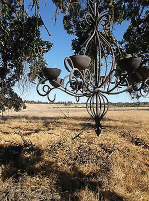 Chandelier Spanish Revival Gothic Renaissance Style Antique Medieval Lighting