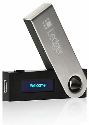 Ledger Nano S Cryptocurrency Hardware Wallet Bitcoin Litecoin Ethereum Ripple