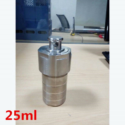 High pressure Hydrothermal Autoclave Reactor 25ml 230℃ 3Mpa customizable