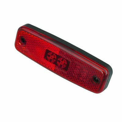 12//24V Rubbolite M891 LED RED REAR MARKER LAMP 0.5M CABLE 891//02//04