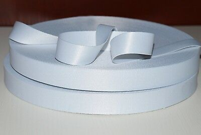 50 METERS POLYESTER SATIN RIBBON FOR SUBLIMATION OR VINYL PRINT 20mm Width
