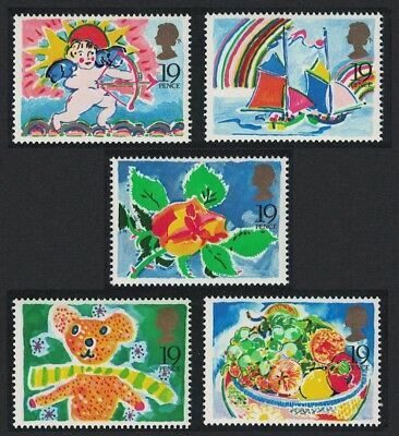 Great Britain Greetings Stamps 5v SG#1423-1247