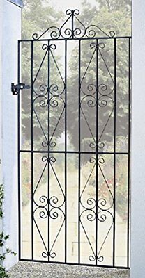 STIRA Metal Scroll Garden Gates from 762mm to 1220mm GAP X 1980mm H wrought iron