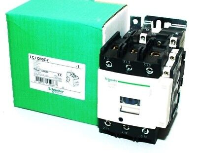 Schneider Electric Contactor LC1 D80G7