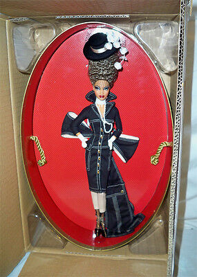 Byron Lars Pepper Barbie doll NRFB Chapeaux Collection Mattel in shipper