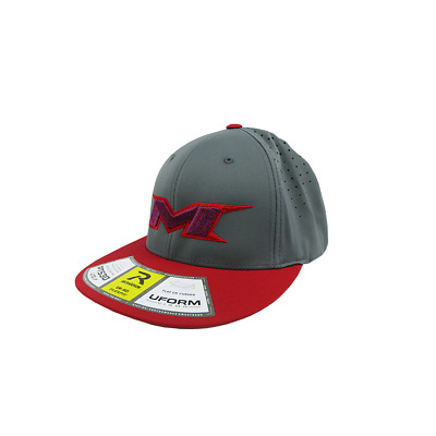 Miken Hat by Richardson (PTS30) Red/Grey/Grey/Red/American Twist SM/MD